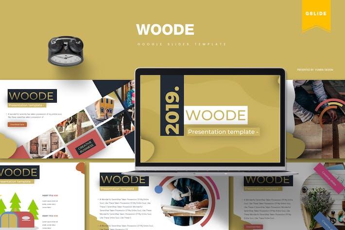 Thumbnail for Woode | Google Slides Template