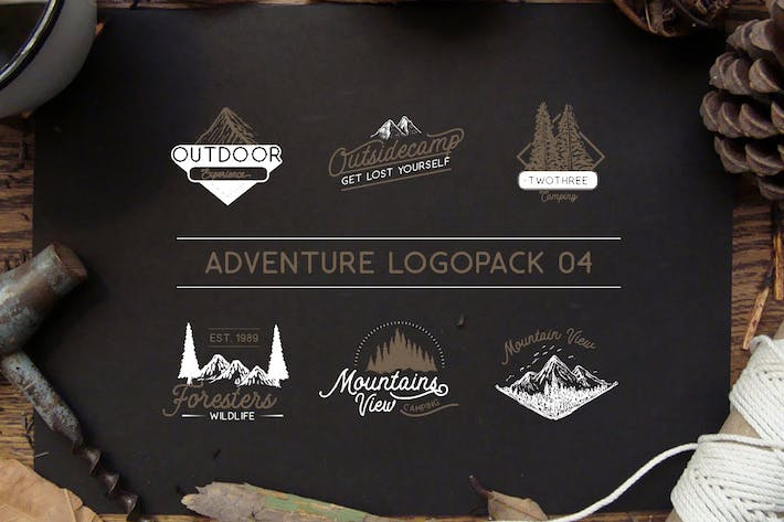 Cover Image For Adventure Logopack Vol. 4