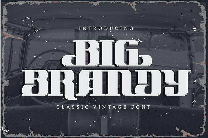 Big Brandy | Clásico Vintage Font