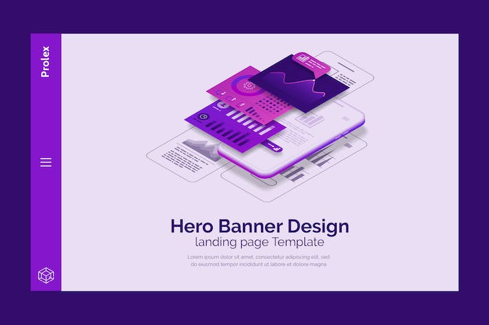 Thumbnail for Prolex - Hero Banner Template