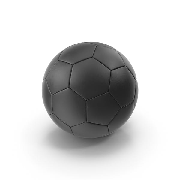 Thumbnail for Black Soccer Ball