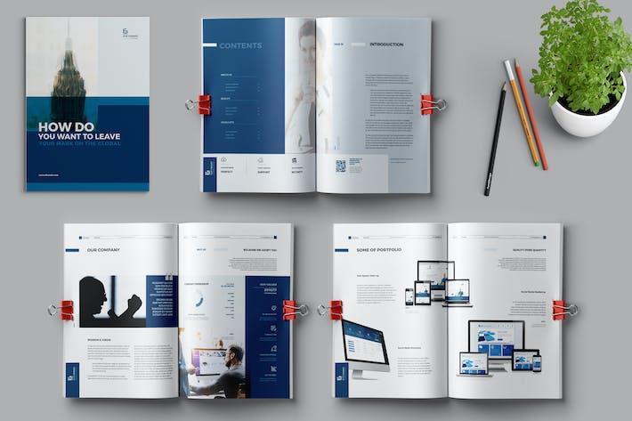 Thumbnail for Business-Broschüre