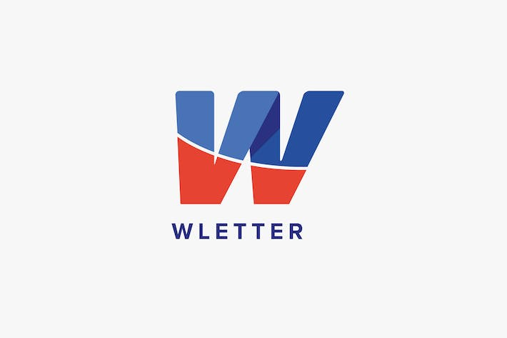 Thumbnail for W Letter Logo Template