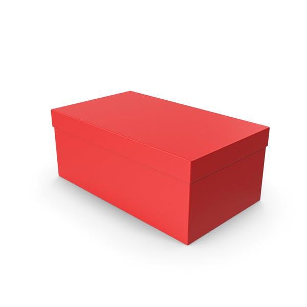 Shoe Box Red