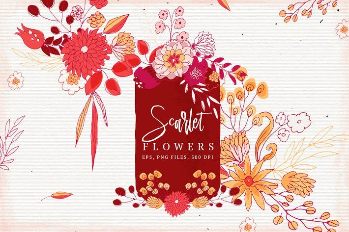 Thumbnail for Scarlet Flowers