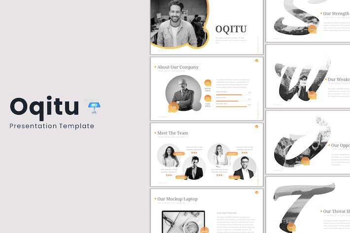 Thumbnail for Oqitu - Keynote Template