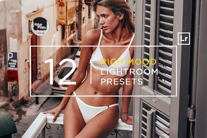 Thumbnail for 12 Rich Mood Lightroom Presets