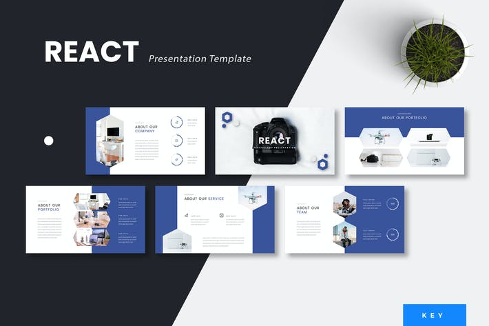 React - Technology Keynote Presentation Template