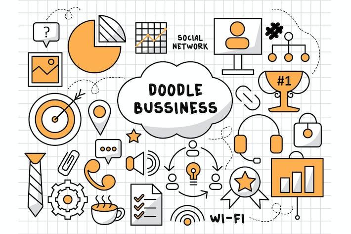 Thumbnail for Business Doodle Illustration Vol.2