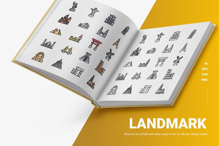Landmark - Icons