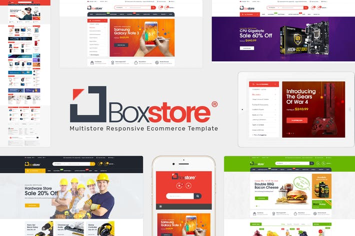 Thumbnail for BoxStore - Multipurpose OpenCart Theme