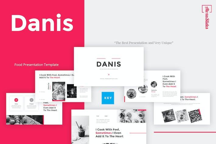 Thumbnail for Danis - Food Keynote Template