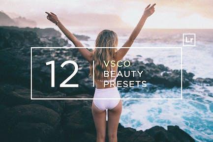 12 VSCO Beauty Lightroom Presets