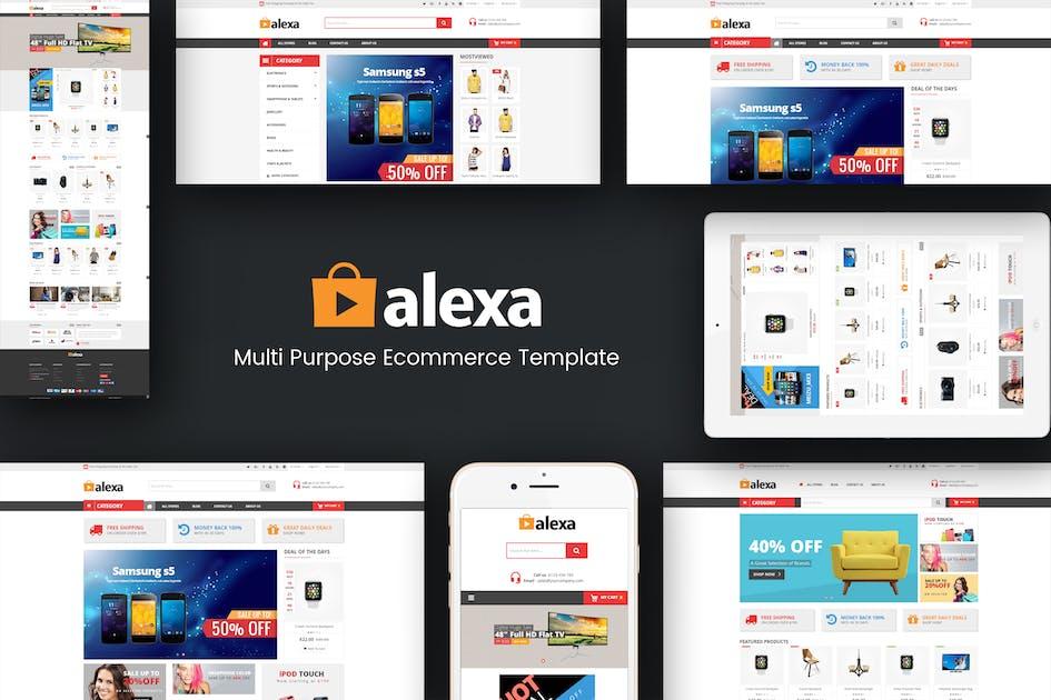 Download Alexa - Mega Store Responsive Magento 2 Theme by Plaza-Themes