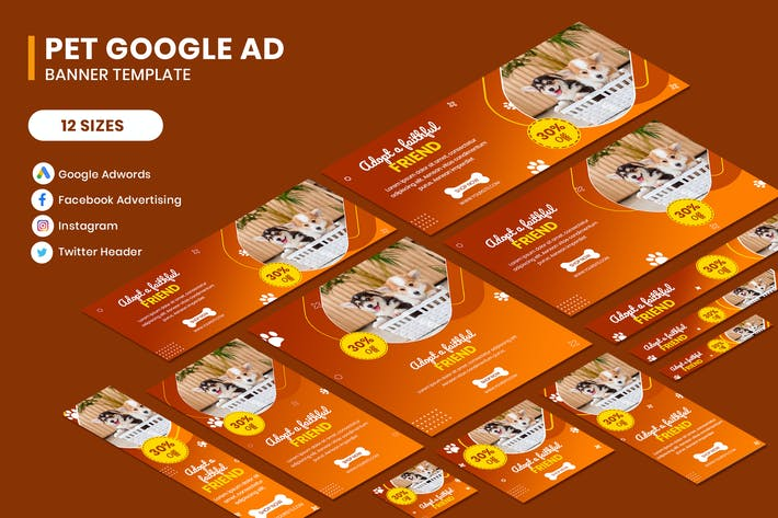 Thumbnail for Pet Google AD Template