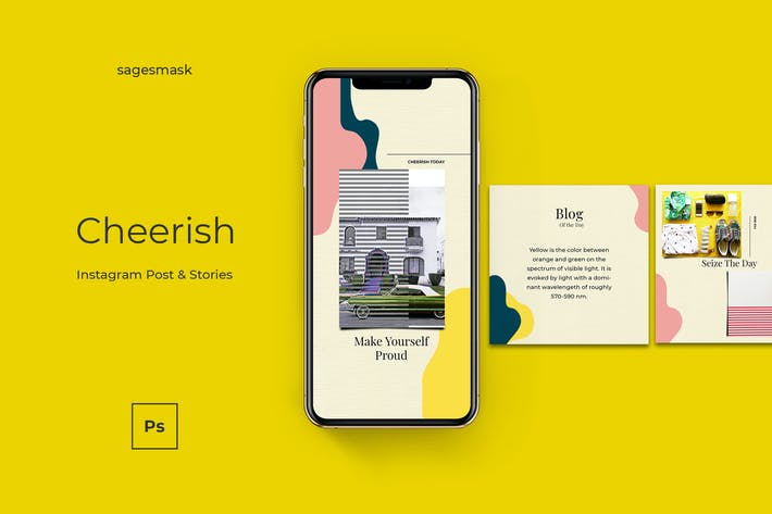 Cover Image For Cheerish Instagram Post & Stories