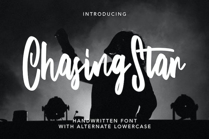 Thumbnail for ChasingStar - Handwritten Font