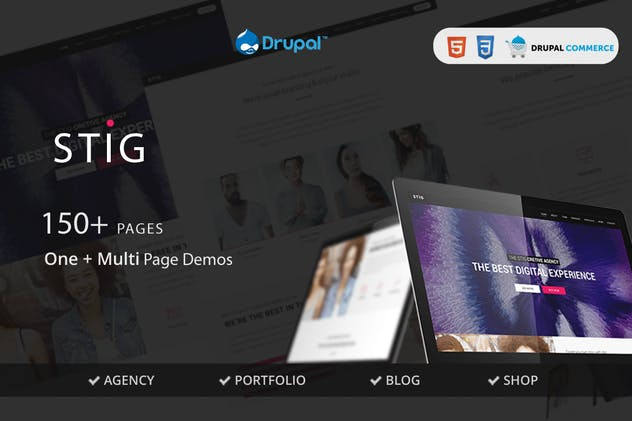 Stig - Multipurpose One/Multi Page Commerce Theme