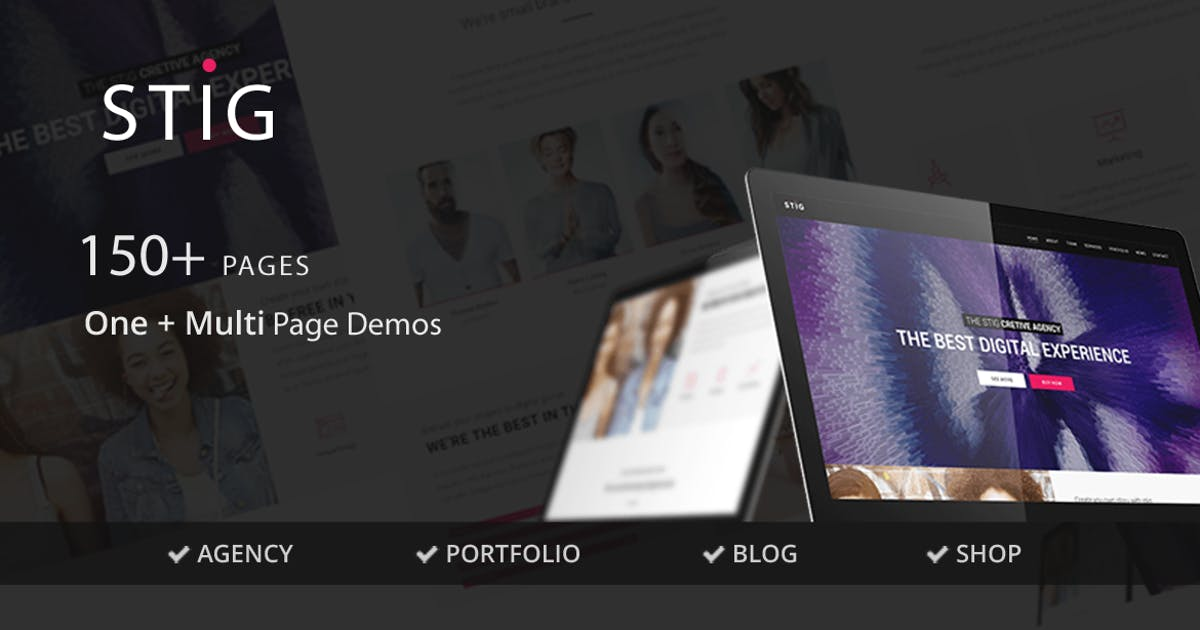 Download Stig - Multipurpose One/Multi Page Commerce Theme by NikaDevs