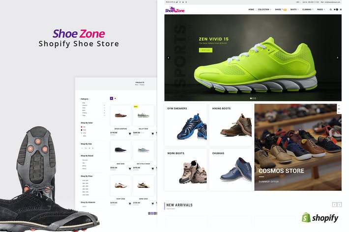 Thumbnail for Shoe Zone | Shopify Theme for Shoe, Footwear Store