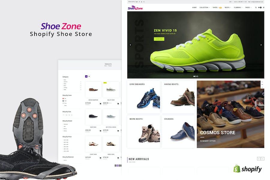 Zona de Zapatos | Shopify Tema para Calzado, Zapatería