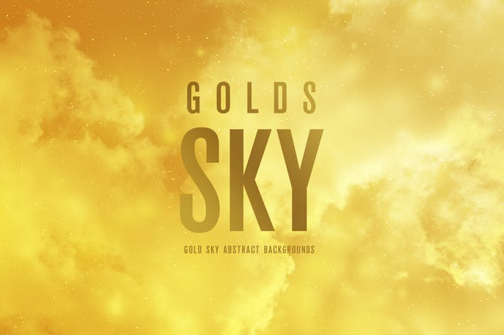 Thumbnail for Gold SKY Abstract Backgrounds