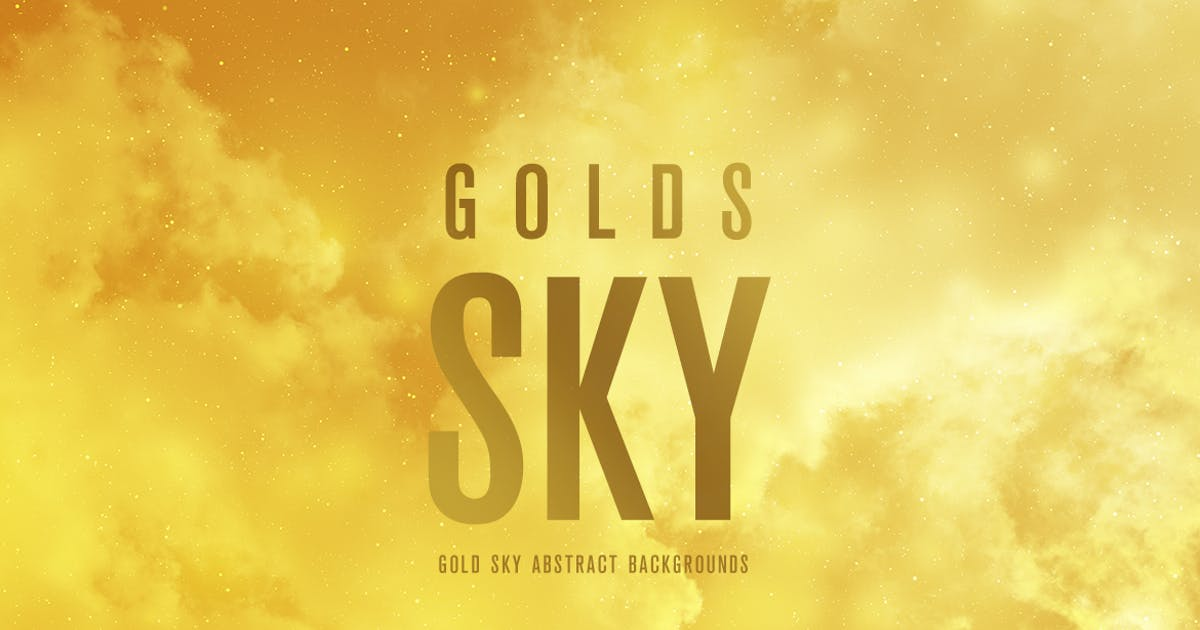 Gold SKY Abstract Backgrounds by mamounalbibi