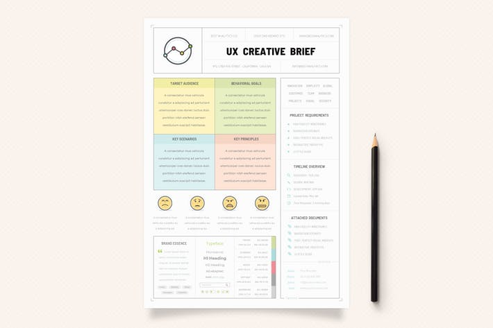 Thumbnail for UX Workflow - Creative Brief - Volume 02