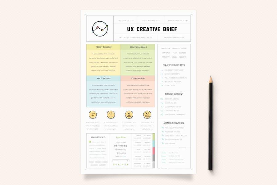 UX Workflow - Creative Brief - Volume 02