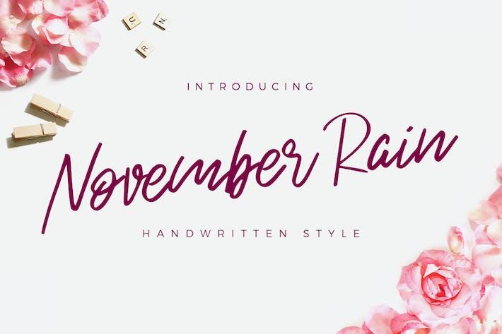 Cover Image For November Rain