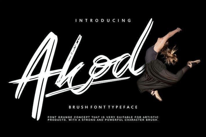 Thumbnail for Akod | Brush Script Font