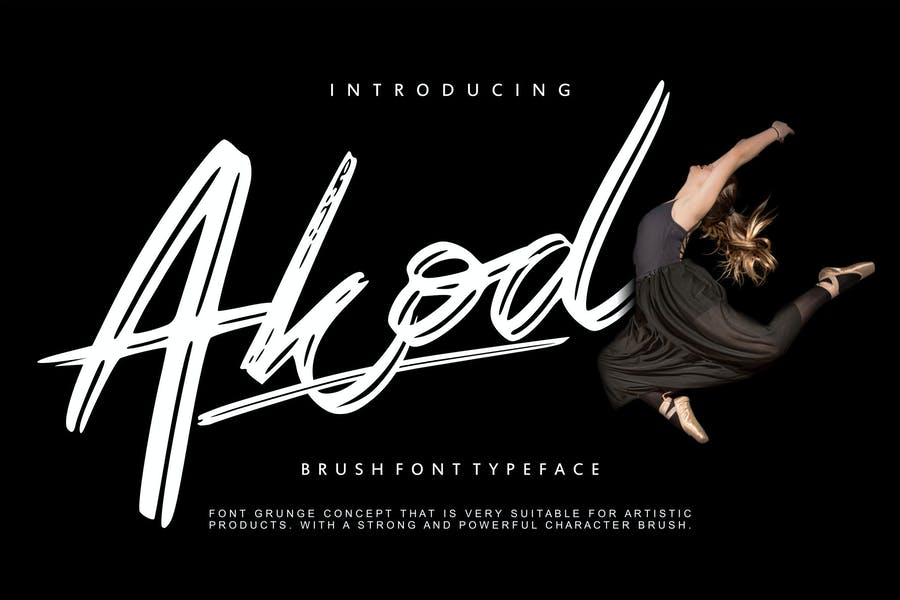Akod | Brush Script Font