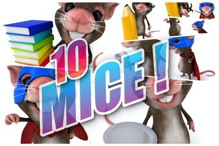 10 fun Mice !