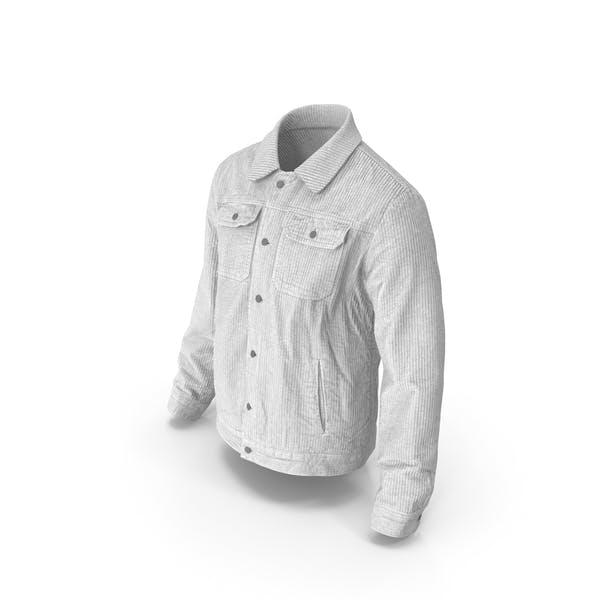 Мужская куртка белый