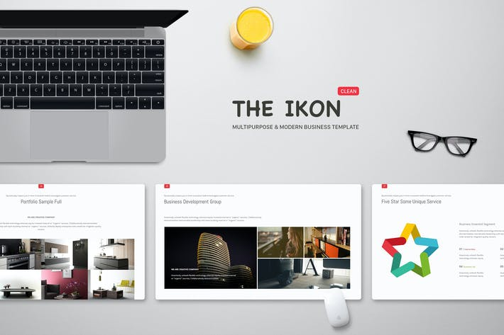 Thumbnail for Ikon Multipurpose Powerpoint Template
