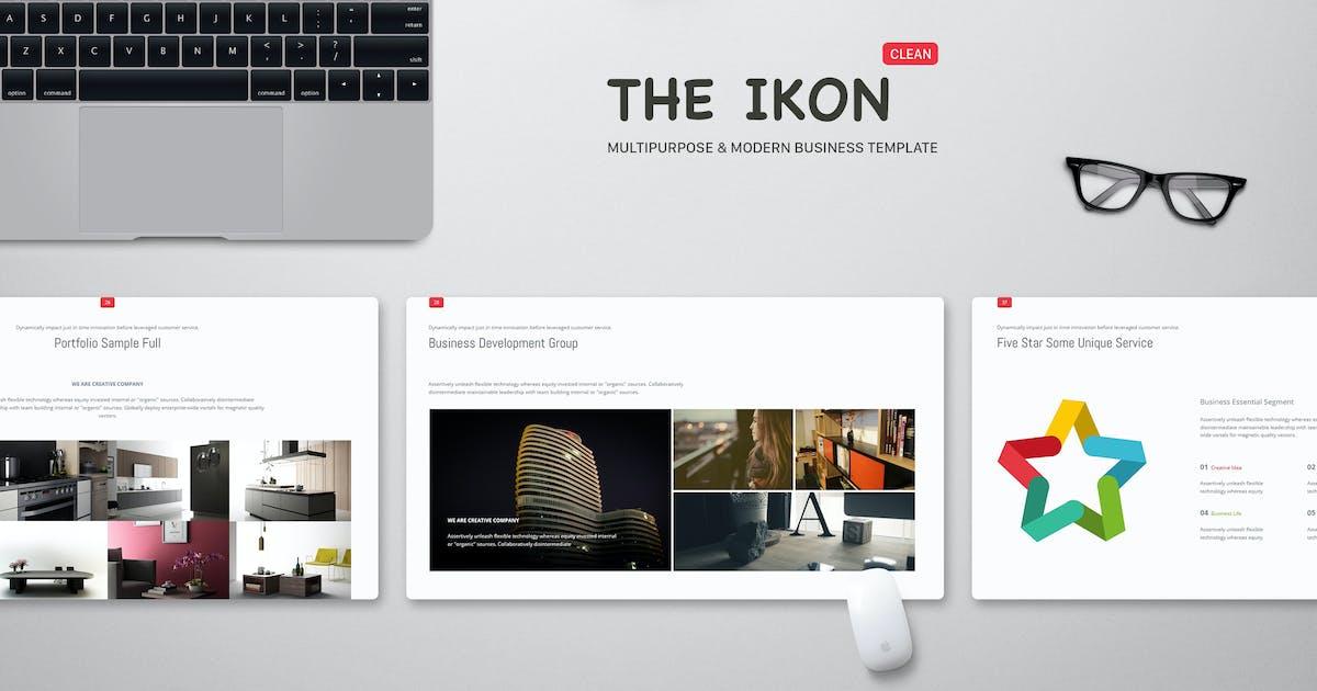 Download Ikon Multipurpose Powerpoint Template by SimpleSmart