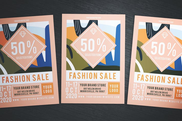 Thumbnail for Fancy Fashion Sale Flyer