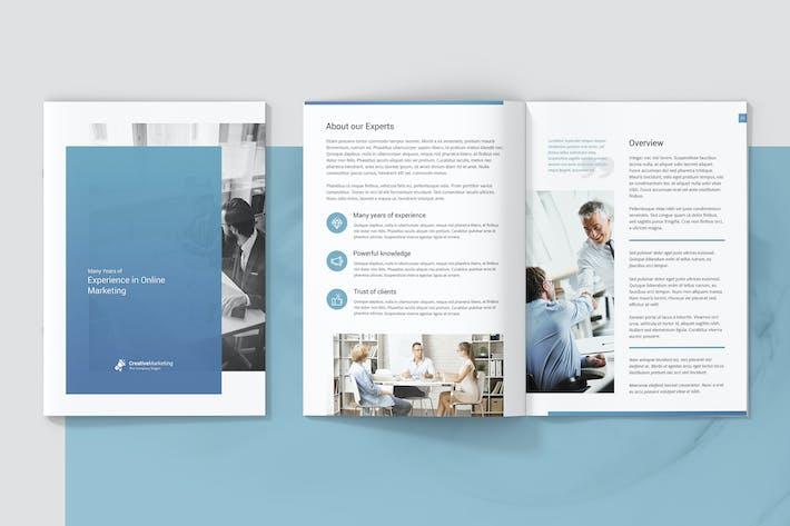 Thumbnail for Mini Brochure – Creative Marketing A5