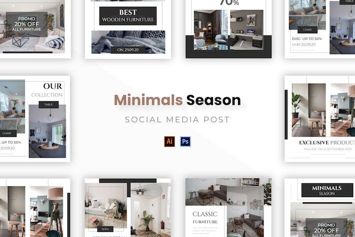 Thumbnail for Minimal-Saison Socmed Post