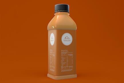 Getränkeflasche Mockup