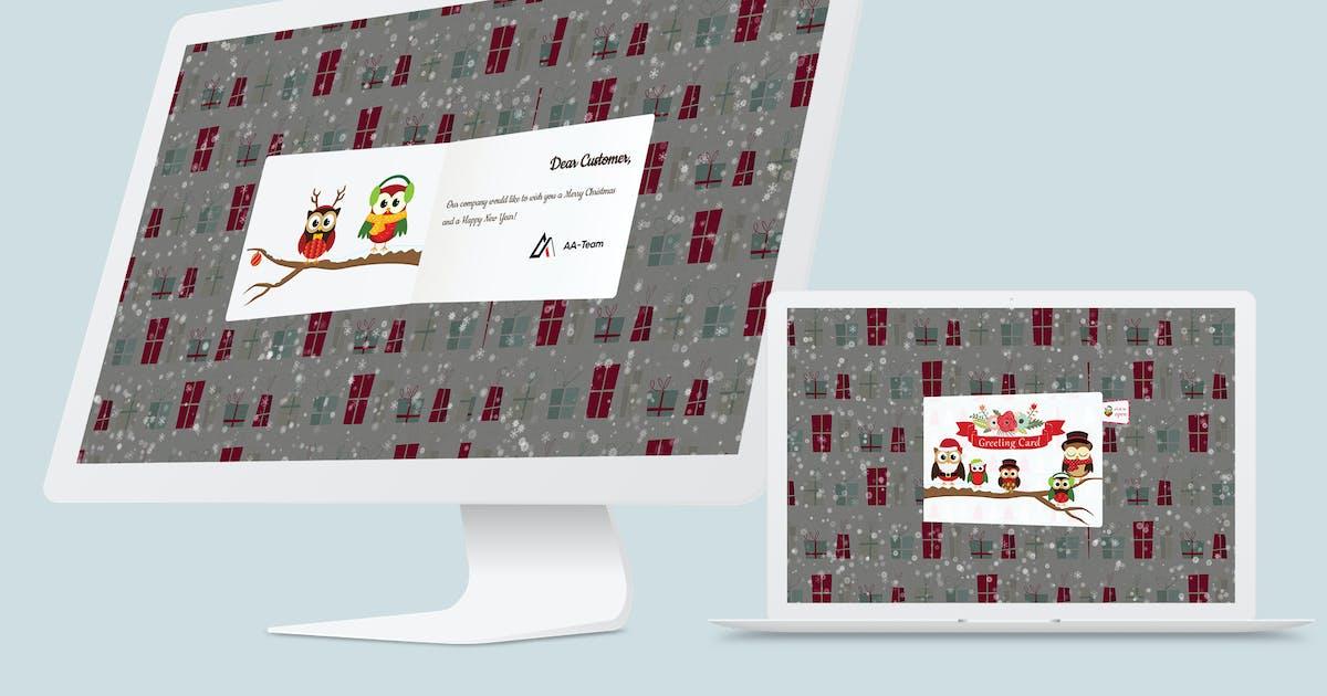 Download Christmas Card WordPress Plugin by AA-Team