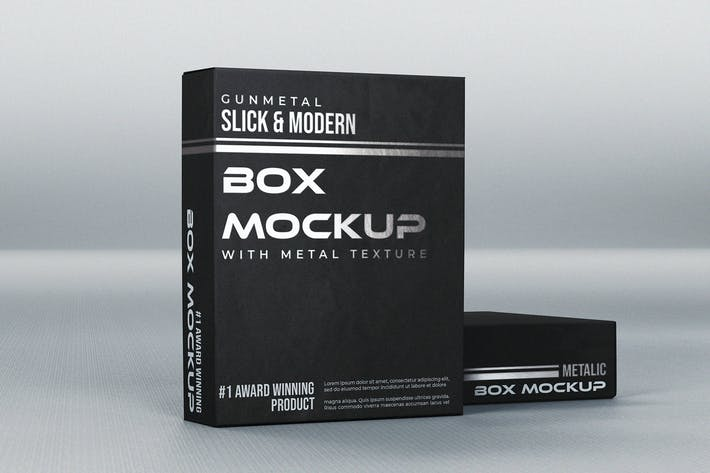 Thumbnail for Realistic Box Mock-Up Template