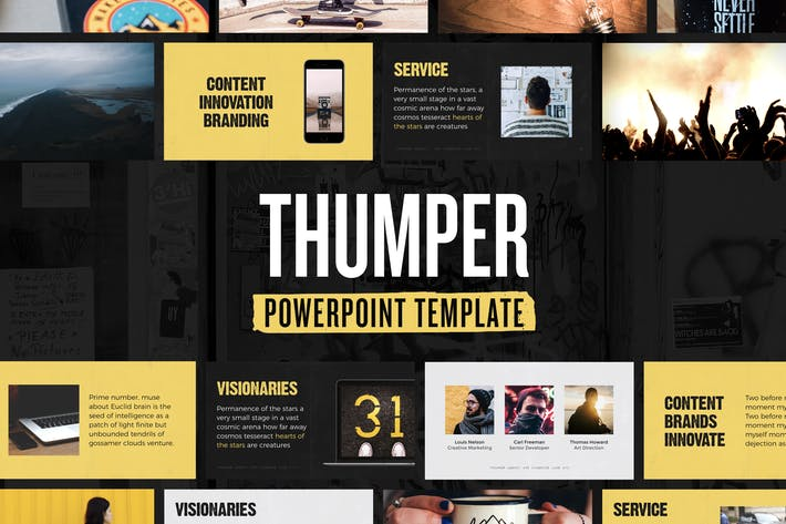 Cover Image For Thumper — Powerpoint Presentation Template