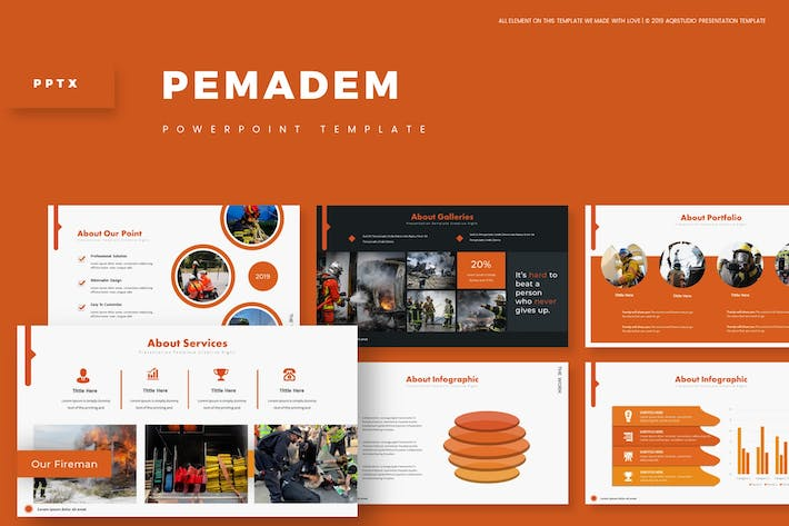 Thumbnail for Pemadeem - Powerpoint Template