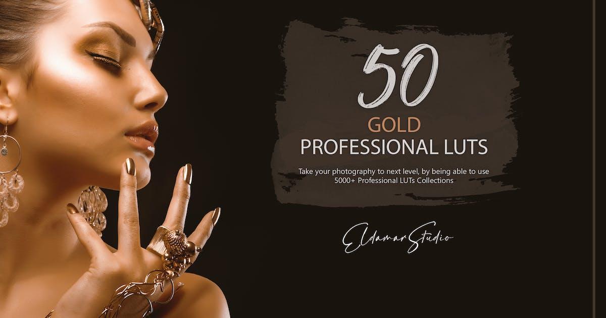 Download 50 Gold LUTs Pack by Eldamar_Studio
