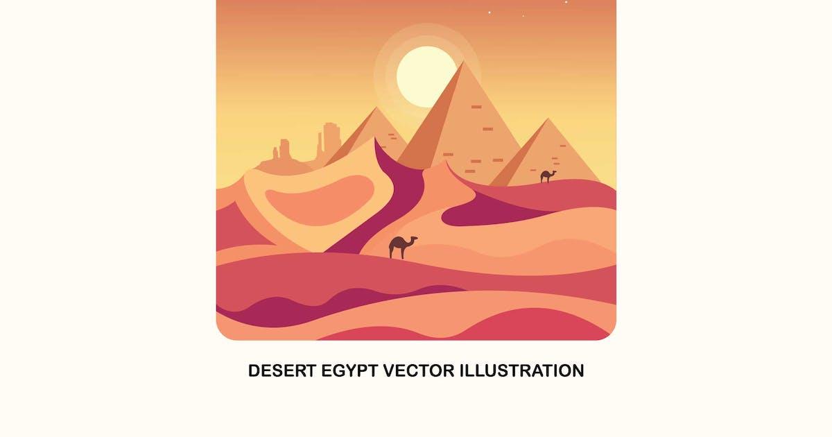 Download Desert Egypt Vector Illustration by IanMikraz