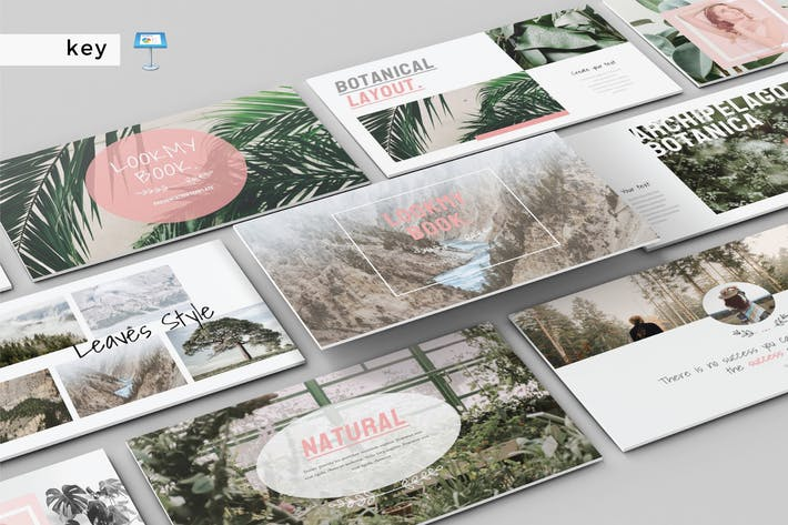 Thumbnail for LOOK MY BOOK - Multipurpose Keynote Template V152