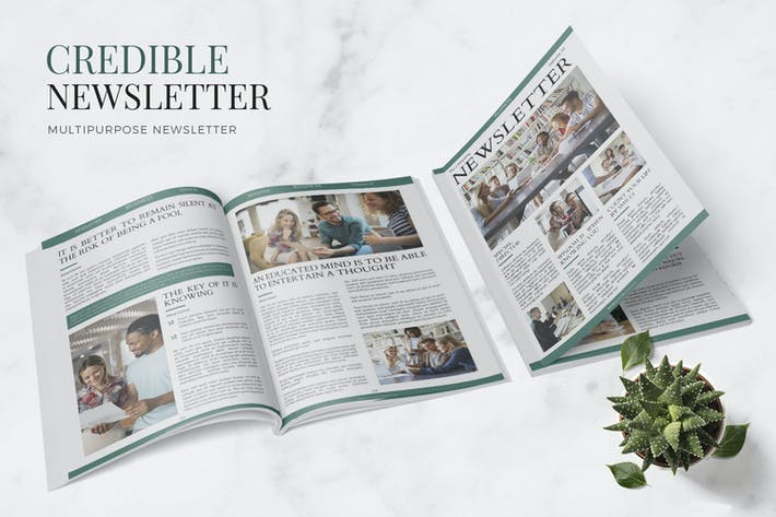 Thumbnail for Credible Business Newsletter