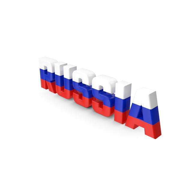 Russland-Text