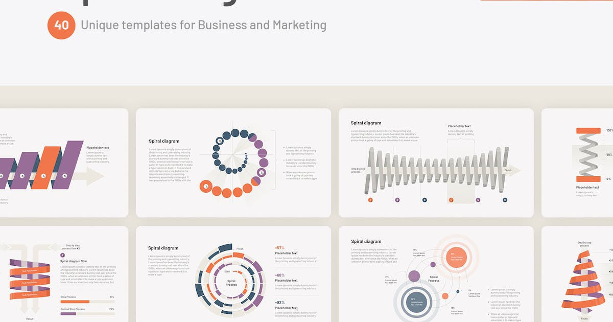 Download Spiral Diagram for PowerPoint by Site2max